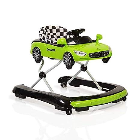 Andador Cabrio 2 in1 Auto Diseño de altura regulable salpicadero ...