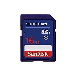SanDisk Memory Card Class - Tarjeta de memoria, 16 GB