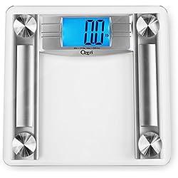 Ozeri ProMax 500 lbs (230 kg) Digital Bath Scale, with Body Tape Measure & Fat Caliper
