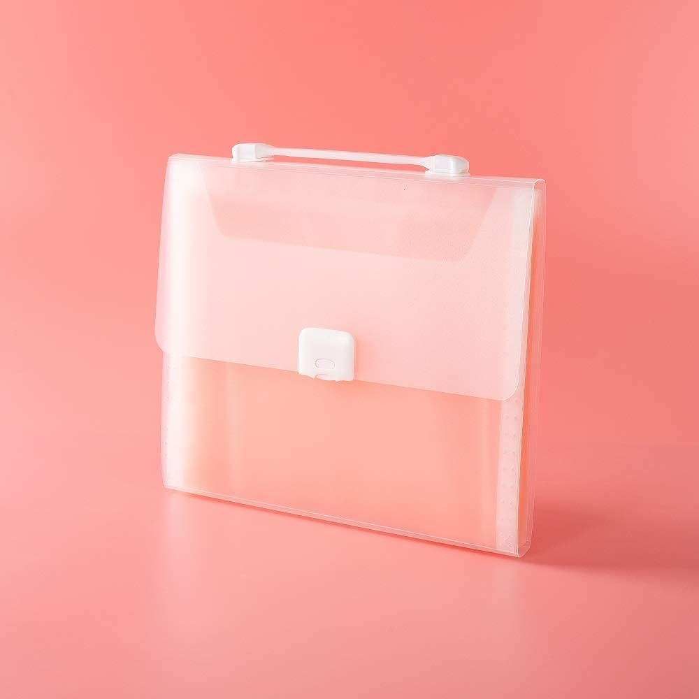 19 Pocket Expandable File Ivory