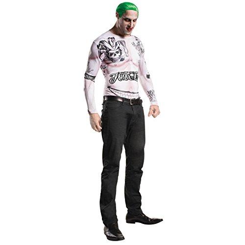 Rubie's Men's Suicide Squad Joker Costume Kit, Multi, (The Joker Costumes For Adults)