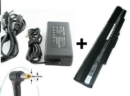 Batería y cargador para ordenador portátil ASUS U30J E-force ® puerto 0 Euro.-Batería y cargador: Amazon.es: Informática