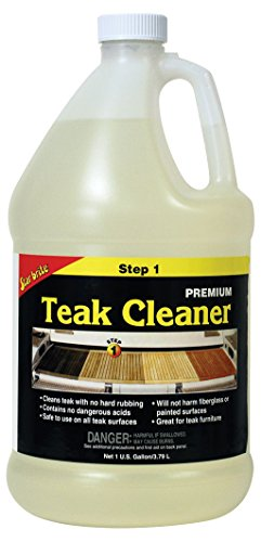 - Star Brite Premium Teak Cleaner - Step 1-1 gal