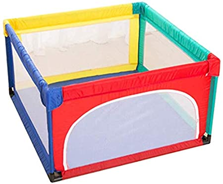 patio Parque infantil plegable para ni/ños 2 Panel hogar centro de actividades de seguridad interior y exterior