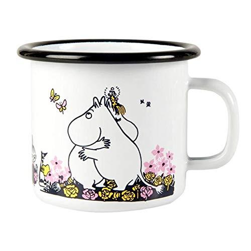 Moomin Enamel Mug Moomin Hug 2,5 dl Muurla