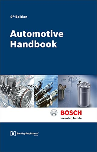 [B.E.S.T] Bosch Automotive Handbook - 9th Edition K.I.N.D.L.E