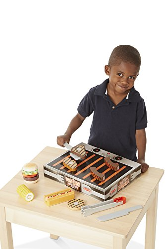 Melissa & Doug Grill & Serve BBQ Set