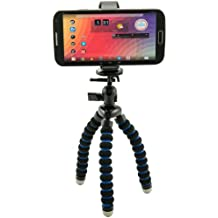 Arkon Universal Smartphone Holder and Flexible Mini Tripod for iPhone 6 Plus/6/5C/5S, Samsung Galaxy Note/4/3/2/S5/S4, Lumia