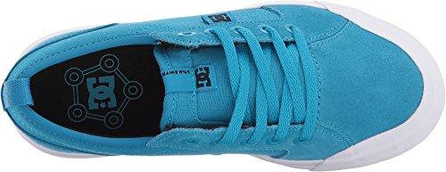 Image of DC Boys' Evan Skate Shoe, Blue, 1 M US Little Kid