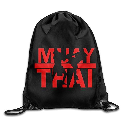 MaNeg Muay Thai Gym Drawstring Backpack&Travel Bag (Ferragamo Backpack)