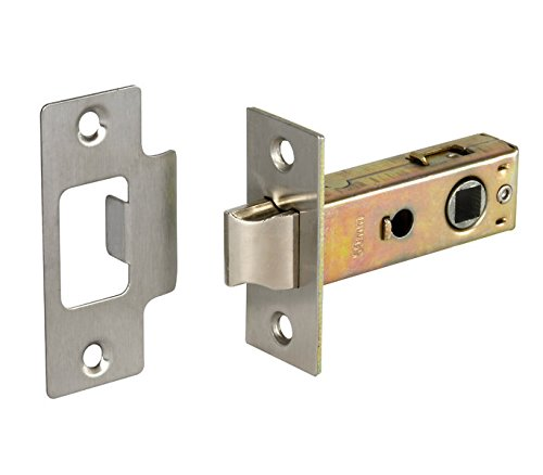 Door Latch Pack of 3, L63 for chrome handles - from Handle Kingdom Ltd L22163NP
