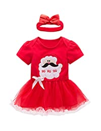May's Baby Toddler Girls Princess Short Sleeves Tulle Dress with Flower headband