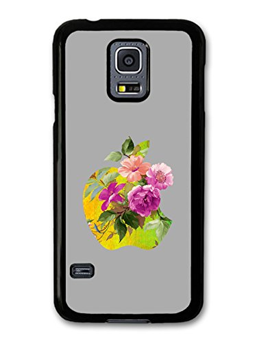Cool New Apple and Flowers Design coque pour Samsung Galaxy S5 mini