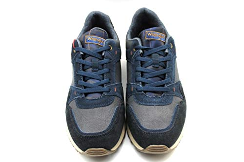 Calzature Wm182120 Blu Run Uomo Comode Sneakers Wrangler Beyond 5qYptw5E