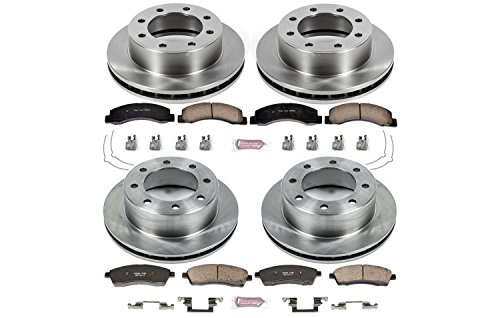 (Autospecialty KOE1906 1-Click OE Replacement Brake Kit)