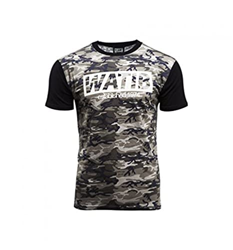 WATI B Men's T-Shirt Black Black XS: Amazon.