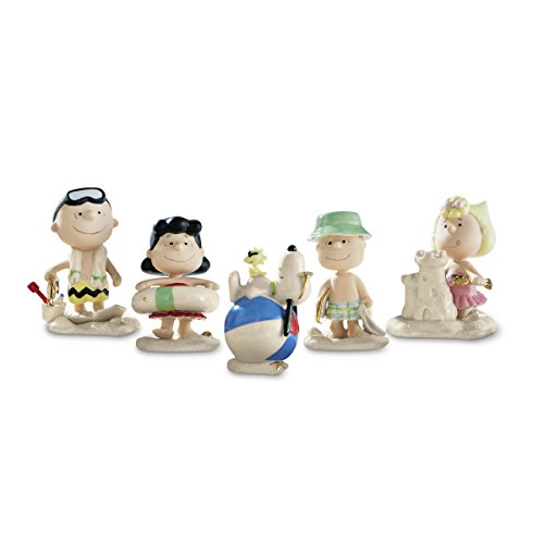 Character Figurine (Lenox 854616 Classics Peanuts Beach Party)