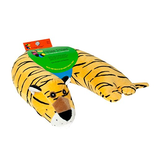 Critter Piller Pillow Yellow Tiger product image