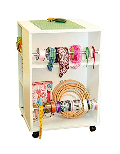 (Arrow Mobile 4 Sided Sewing Accessories Storage Cube -)