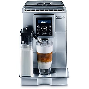 DeLonghi Refurbished ECAM23450SL-X Superautomatic Espresso Machine, Silver