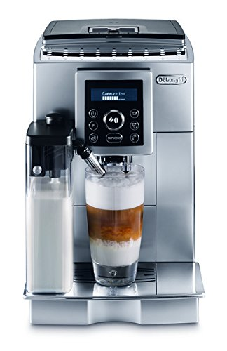 DeLonghi ECAM23450SL-X Superautomatic Espresso Machine, Silver  (Certified Refurbished) Auto Espresso Machine
