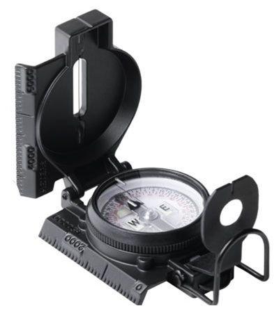 - Cammenga S.W.A.T. Tritium Lensatic Compass, Black, Clam Pack