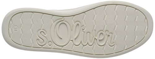 Bianco 23625 Donna Nappa oliver Basse S Ginnastica Scarpe white Da wqUHSfFA