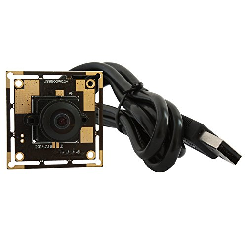 5 Magapixel USB Camera 170 Degree Fisheye Camera High Definition 2592X1944 USB Webcamera with CMOS OV5640 Image Sensor USB with Camera, Wide Angle Machine Vision Mini Webcam,Web Cams Plug&Play UVC by Camera USB (Image #4)