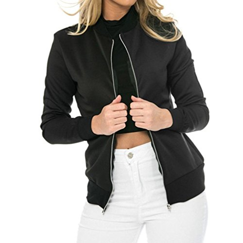 - Kulywon Women Solid Outwear Sweatshirt Hooded Jacket Overcoat Fashion Top Coat