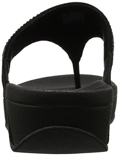 Fitflop Kvinner Flare Thong Sandal Sort