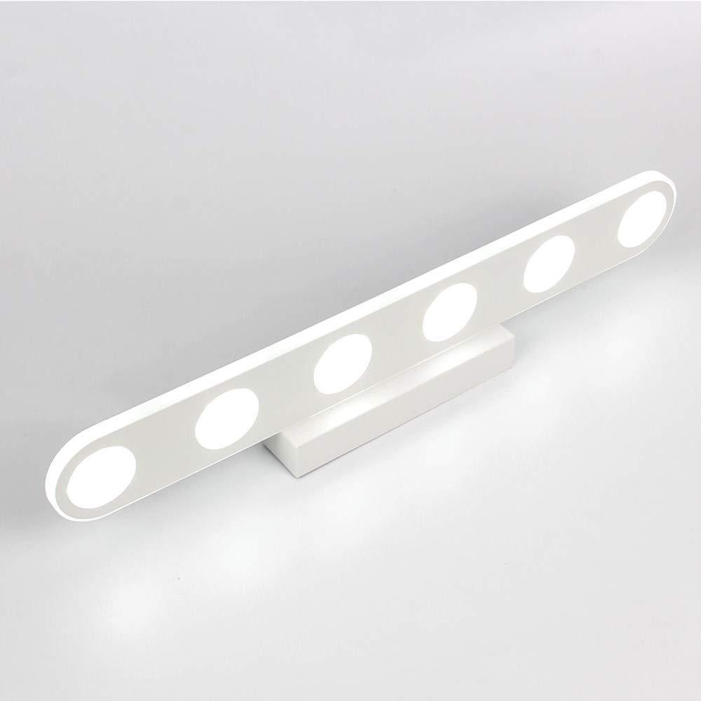 U-Enjoy Kronleuchter Moderne weiße Farbe Fixture Top-Qualität 918W Led-Spiegel-Led Bad Licht Wandleuchte Lampen 110240V Ac Kostenloser Versand [Cool Weiß 6000K & Weiß 9W]