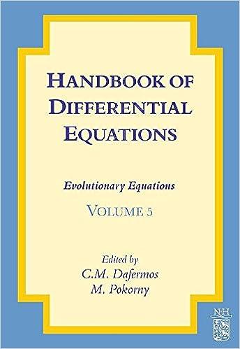 Handbook of Differential Equations: Evolutionary Equations 1