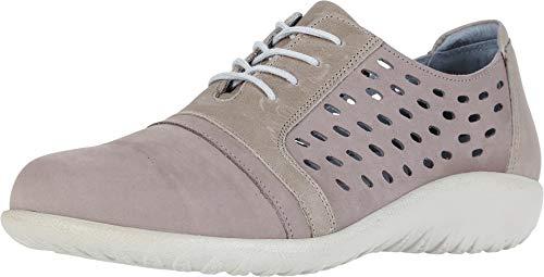 - NAOT Footwear Women's Lalo Stone Nubuck/Khaki Beige Lthr Lace-up Shoe 5 M US