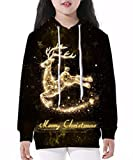 """Gludear Teen Boys' Girls' 3D Galaxy Unicorn Print Sweatshirts Pocket Pullover Hoodies Fit 41""""-61""""HighFeatures:Sleeve Length:Full Sleeve,Long SleeveThickness:Standard,Without VelvetClosure Type:Pull OnCollar:O-NeckStyle:Casual,Cute,Cool,FashionMateria..."""