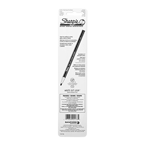 Sharpie 2173PP Peel-Off China Markers, Black, 2-Count by Sharpie (Image #6)