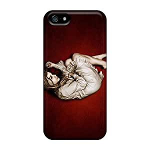 Premium Photoshop Sad Girl Back Cover Snap On Case For Iphone 5/5s
