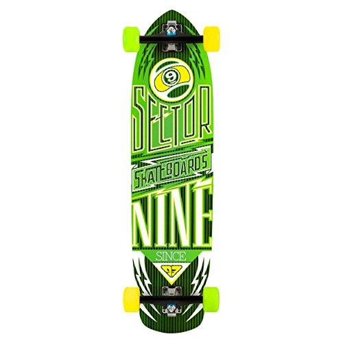 - Sector 9 Carbon Flight Complete Skateboard, Blue