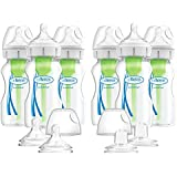 Dr. Brown's Options+ Wide-Neck Baby Bottles, 9...
