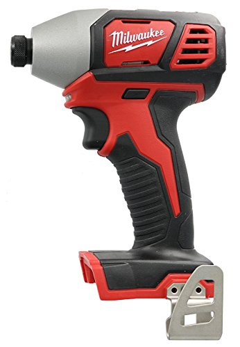 Milwaukee 2656-20 M18 18V 1/4 Inch Lithium Ion Hex Impact Driver with 1,500 Inch Pounds of Torque and LED Lighting Array (Battery Not Included, Power Tool Only)