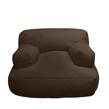 Amazon.com: newco Kids Sherpa Bean silla de peluche, color ...
