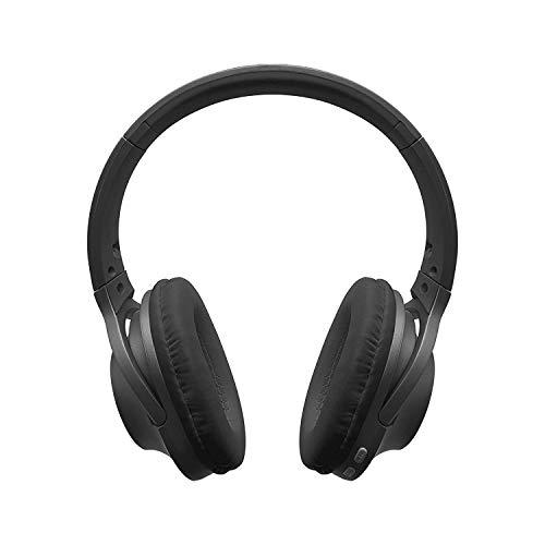 Fisher Smooth Harmony Wireless Bluetooth Headphones, Comfort, Portable Design – Matte Black