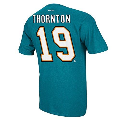 San Jose Sharks Joe Thornton Name and Number T-Shirt - ()