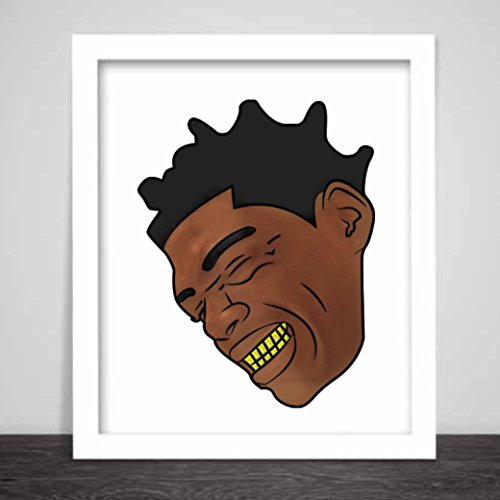 Kodak Black Art Poster Color