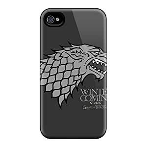 Iphone 4/4s NaA7845RhOT Custom Stylish Game Of Thrones Pattern Excellent Hard Phone Cover -LavernaCooney