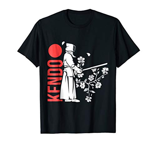 Full Contact Fighter T-shirt - Kendo Martial Arts T-Shirt for Japan Lover