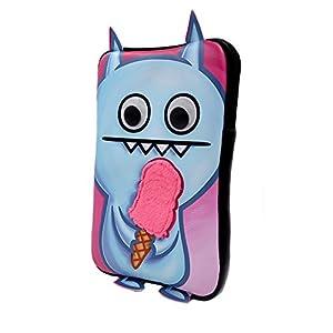 caseable Fire-Tablet-Hülle für Kinder, Ice-Bat Ice Cream