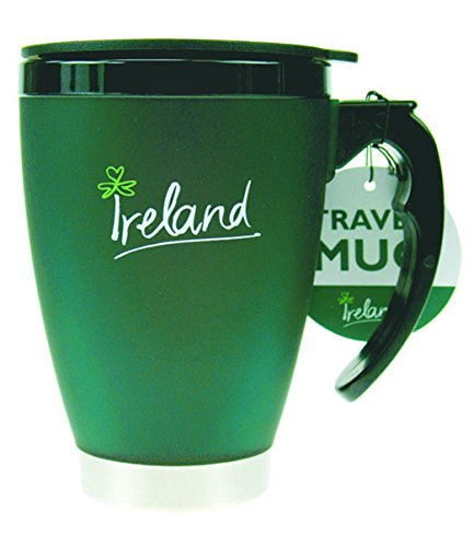 Carrolls Irish Gifts Small Travel Mug with Handle, Ireland - Collection Ireland