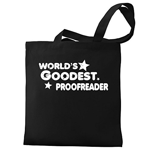 Eddany Eddany Proofreader Canvas World's goodest Tote Bag goodest World's dEwqxf