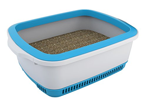 cateco self drying litter box blue x 16 5 x 7 9 buy online in uae misc products. Black Bedroom Furniture Sets. Home Design Ideas