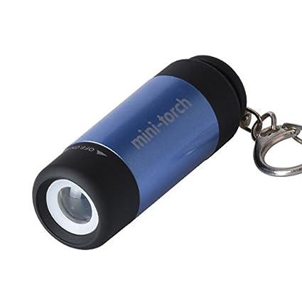 Led Lighting New Portable Mini Keyring Usb Led Lights Waterproof Flashlight Pocket Rechargeable Torch Lamp 2019 New Fashion Style Online
